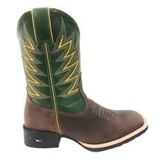 Bota Mr. West Boots Mad Dog Café/Verde Bandeira 81408