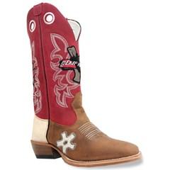 0dd08555426dd Bota Mr. West Boots Mad Dog Tab Fossil Vermelho Carrapeta 85976 ...