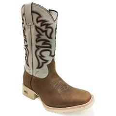 Bota Mr. West Boots Mad Dog Tabaco/Marfim 81555