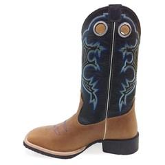 Bota Mr. West Boots Pull Up Amendoa/Preto 68796 B-02