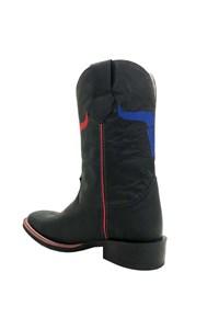 Bota Texas Boots Crazy Preto/ Fossil Preto T10-LQBO