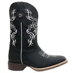 Bota Texas Boots Crazy Preto/ Fossil Preto TFM17-LQBO