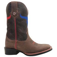 Bota Texas Boots Dls/ Fossil Marrom T20-LQBO