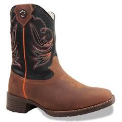 Bota Texas Boots Infantil Jatoba/ Preto T16-LQBO