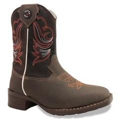 Bota Texas Boots Infantil Moca/ Fossil Marrom T16-LQBO