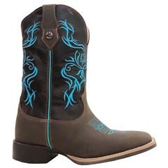 Bota Texas Boots Moca/ Fossil Marrom TFM14-LQMBO
