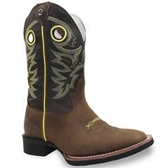 Bota Texas Boots Moca/Marrom/Amarelo 14191015-LQBO