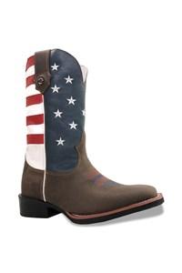 Bota Texas Boots Moca/ USA 143340103-LQBO