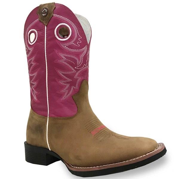 Bota Texas Boots Peroba/Pink 18231053-LQBO