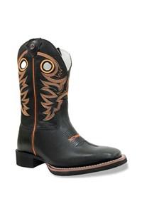 Bota Texas Boots Preto/Preto/Laranja 20211029-LQBO