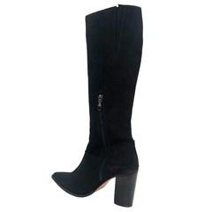 Bota Vimar Boots Montaria Nobuck Preto 42014