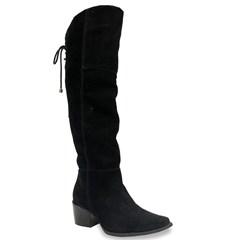 Bota Vimar Boots Over Nobuck Preto 14053