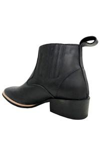 Botina Mr. West Boots Fossil Preto 85977