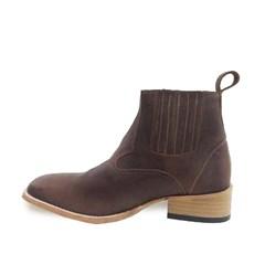 Botina Mr. West Boots Fossil Tab 69192