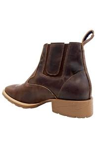 Botina Mr. West Boots Fossil Tab 86345