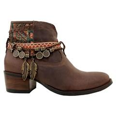 Botina Vimar Boots Fossil Pinhão 12170