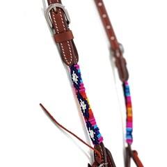 Cabeçada Boots Horse 1 Orelha c/ Miçanga 3893.1