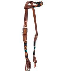 Cabeçada Boots Horse 1 Orelha c/ Miçanga 3893.2