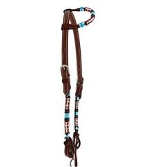 Cabeçada Boots Horse 1 Orelha c/ Miçanga 3893.3
