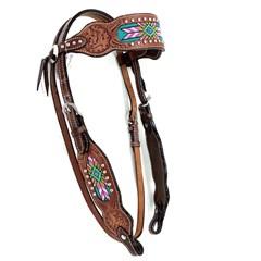 Cabeçada Boots Horse Testeira 3861