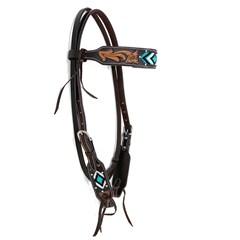 Cabeçada Boots Horse Testeira 7252