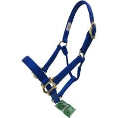 Cabresto Mustang Nylon Azul 85352