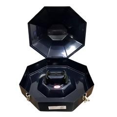 Caixa p/ Chapéu Aba 13 Hammer Importada Azul Marinho M03-HP