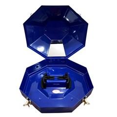 Caixa p/ Chapéu Hammer Importada Azul M02BK