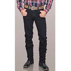 Calça Bill Way Jeans Preto 605