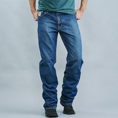 Calça Dock's White Jeans Manchado 1440