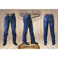 Calça King Farm Bronze King/ Original Fit KF-Bronze