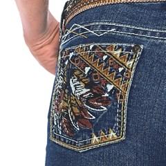 Calça Tassa Gold Boot Cut Bordada 3874.1