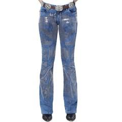 Calça Tassa Jeans c/ Paetê Boot Cut 4138.1