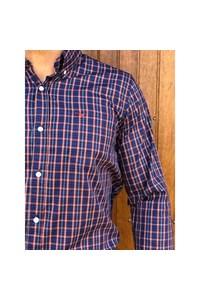 Camisa All Hunter Xadrez Azul/ Vermelho/ Verde 830