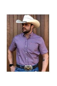 Camisa All Hunter Xadrez Vermelho/ Azul/ Branco 829