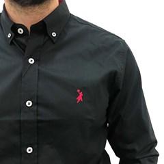 Camisa Austin Western Preto AT-CM-ML01