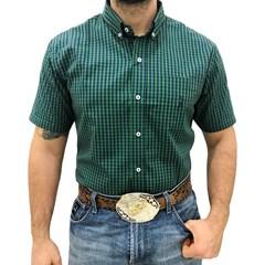 Camisa Austin Western Xadrez Verde/Azul Marinho AT-CM04