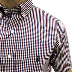 Camisa Austin Western Xadrez Vermelho/Branco/Azul AT-CM01
