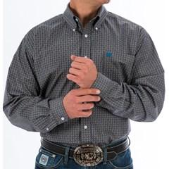 Camisa Cinch Importada Estampado MTW1104707-GRY