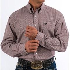 Camisa Cinch Importada Estampado MTW1104711-BUR