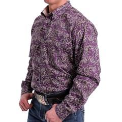 Camisa Cinch Importada Floral MTW1104991-PUR