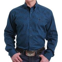 Camisa Cinch Importada Floral MTW1105009-BLU