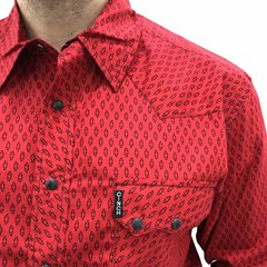 Camisa Cinch Importada MTW1306004-RED