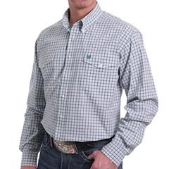 Camisa Cinch Importada Xadrez MTW1107123-WHT