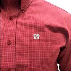 Camisa Cinch Impotada Xadrez MTW1104703-BUR