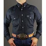 Camisa Marruco Azul Marinho/ Estampado CM0015