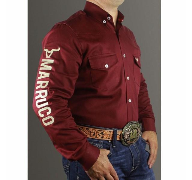 Camisa Marruco Bordô CM0018