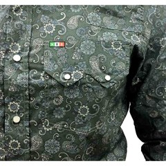 Camisa Mexican Shirts Floral 0062-MXS