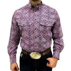 Camisa Mexican Shirts Floral 0063-04-MXS