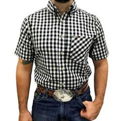 Camisa Mexican Shirts Xadrez 0060-01-MXS
